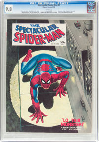 Spectacular Spider-Man #1 (Marvel, 1968) CGC NM/MT 9.8 White pages