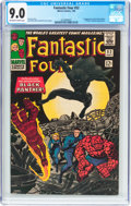 Silver Age (1956-1969):Superhero, Fantastic Four #52 (Marvel, 1966) CGC VF/NM 9.0 Off-white to whitepages....