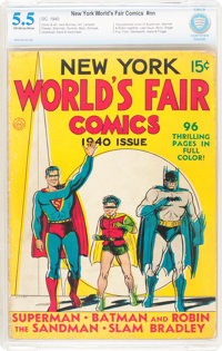 New York World's Fair Comics 1940 (DC, 1940) CBCS FN- 5.5 Off-white to white pages