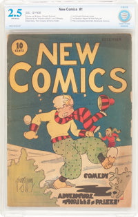 New Comics #1 (DC, 1935) CBCS GD+ 2.5 Off-white pages