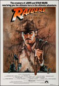 "Movie Posters:Adventure, Raiders of the Lost Ark (CIC, 1981). Australian One Sheet (27"" X40""). Adventure.. ..."