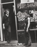 Photographs, Leon Levinstein (American, 1908-1988). Untitled (Peep Show), 1970s. Gelatin silver. 14 x 11 inches (35.6 x 27.9 cm). The...