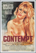"Movie Posters:Foreign, Le Mepris (Rialto, R-2008). One Sheet (27"" X 40"") SS. Foreign. Alternate Title: Contempt.. ..."