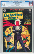 Golden Age (1938-1955):Superhero, Detective Comics #168 (DC, 1951) CGC VG+ 4.5 Off-white to white pages....