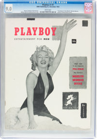 Playboy #1 (HMH Publishing, 1953) CGC VF/NM 9.0 White pages