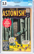 Silver Age (1956-1969):Horror, Tales to Astonish #1 (Marvel, 1959) CGC GD+ 2.5 Cream to off-whitepages....