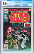 Bronze Age (1970-1979):Science Fiction, Star Wars #4 35¢ Price Variant (Marvel, 1977) CGC NM+ 9.6 Off-white to white pages....