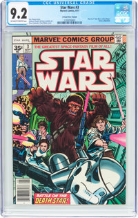 Star Wars #3 35¢ Price Variant (Marvel, 1977) CGC NM- 9.2 Off-white to white pages
