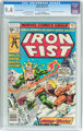 Iron Fist #14 35¢ Price Variant (Marvel, 1977) CGC NM 9.4 Off-white to white pages