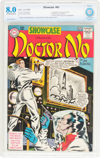 Showcase #43 Doctor No (DC, 1963) CBCS VF 8.0 Off-white to white pages