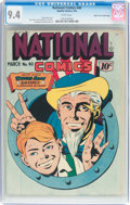 Golden Age (1938-1955):Superhero, National Comics #40 Mile High Pedigree (Quality, 1944) CGC NM 9.4 White pages....