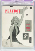 Magazines:Miscellaneous, Playboy #1 Page 3 Copy (HMH Publishing, 1953) CGC Apparent FN+ 6.5 Slight (A-1) White pages....