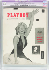 Playboy #1 Page 3 Copy (HMH Publishing, 1953) CGC Apparent FN+ 6.5 Slight (A-1) White pages