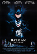 """Movie Posters:Action, Batman Returns (Warner Brothers, 1992). One Sheets (2) (27"""" X40.25"""") DS Advance Styles. Action.. ... (Total: 2 Items)"""