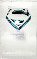 "Movie Posters:Action, Superman the Movie (Warner Brothers, 1978). Mylar One Sheet (25.25""X 39.75"") Advance. Action.. ..."