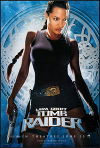 "Lara Croft: Tomb Raider & Other Lot (Paramount, 2001). One Sheets (2) (26.75"" X 39.75"" & 27"" X 40..."