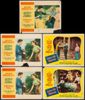 "Movie Posters:Elvis Presley, Loving You & Other Lot (Paramount, 1957). Lobby Cards (5) (11""X 14""). Elvis Presley.. ... (Total: 5 Items)"
