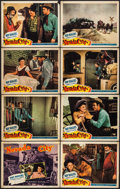 """Movie Posters:Western, Nevada City (Republic, 1941). Lobby Card Set of 8 (11"""" X 14""""). Western.. ... (Total: 8 Items)"""