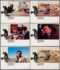 "Movie Posters:Action, Magnum Force (Warner Brothers, 1973). Lobby Cards (6) (11"" X 14"").Action.. ... (Total: 6 Items)"