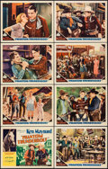 "Movie Posters:Western, Phantom Thunderbolt (Worldwide Pictures, 1933). Lobby Card Set of 8 (11"" X 14""). Western.. ... (Total: 8 Items)"