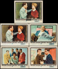 "Movie Posters:Crime, Ocean's 11 (Warner Brothers, 1960). Lobby Cards (5) (11"" X 14""). Crime.. ... (Total: 5 Items)"