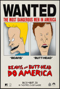 "Movie Posters:Animation, Beavis and Butthead Do America (Paramount, 1996). One Sheet (27"" X40"") SS Advance. Animation.. ..."