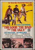 """Movie Posters:Western, The Good, the Bad and the Ugly (United Artists, R-1970s). Australian One Sheet (27"""" X 40""""). Western.. ..."""