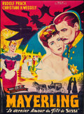 """Movie Posters:Foreign, Mayerling (Exportfilm Bischoff & Company, 1956). French Grande (47"""" X 63""""). Foreign.. ..."""