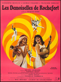"The Young Girls of Rochefort (Comacico, 1967). French Grande (47"" X 63""). Musical"
