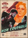 """Movie Posters:Foreign, Non Coupable (Sirius, 1947). French Grande (46.5"""" X 63""""). Foreign.. ..."""
