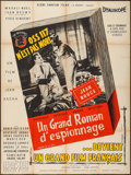 """Movie Posters:Foreign, O.S.S. 117 is Not Dead (Globe Omnium Films, 1957). French Grande (47"""" X 63""""). Foreign.. ..."""