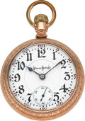 Timepieces:Pocket (post 1900), Illinois 24 Ruby Jewel Bunn Special, circa 1907. ...