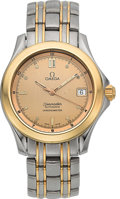 Timepieces:Wristwatch, Omega Ref. 168.1501 Steel & Gold Seamaster Automatic. ...