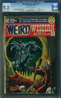 Weird Western Tales #12 (DC, 1972) CGC NM- 9.2 Off-white to white pages
