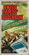 "Movie Posters:Adventure, Swiss Family Robinson (Astor, R-1946). Three Sheet (41"" X 79"").Adventure.. ..."