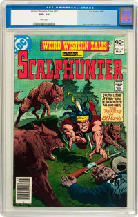 Weird Western Tales #67 (DC, 1980) CGC NM+ 9.6 White pages