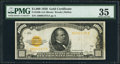 Small Size:Gold Certificates, Fr. 2408 $1,000 1928 Gold Certificate. PMG Choice Very Fine 35.. ...