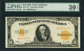 Large Size:Gold Certificates, Fr. 1173* $10 1922 Gold Certificate Star PMG Very Fine 30 EPQ.. ...