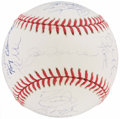 Baseball Collectibles:Balls, 2000 New York Yankees Team Signed Baseball. ...