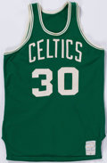 Basketball Collectibles:Uniforms, Mid 1970's Glenn McDonald Game Worn Boston Celtics Jersey....
