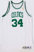 Basketball Collectibles:Uniforms, 1996-97 Frank Brickowski Game Worn Jersey and Shorts. ...