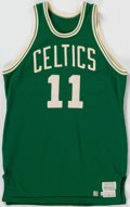 Basketball Collectibles:Uniforms, 1981-82 Tracy Jackson Game Worn Boston Celtics Jersey....