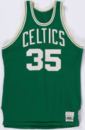Basketball Collectibles:Uniforms, Early 1980's Charles Bradley Game Worn Boston Celtics Jersey....