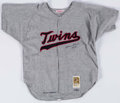 Baseball Collectibles:Uniforms, Harmon Killebrew Signed Minnesota Twins Jersey....