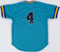 Baseball Collectibles:Uniforms, Paul Molitor Signed Milwaukee Brewers Jersey....