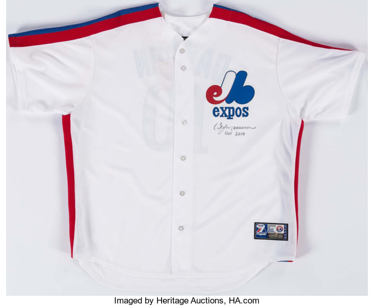 pretty nice 053a4 7c157 Andre Dawson Signed Montreal Expos Jersey.... Baseball ...