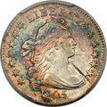 Early Dimes, 1805 10C 4 Berries, JR-2, R.2, AU58+ PCGS. CAC....