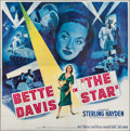 "Movie Posters:Drama, The Star (20th Century Fox, 1952). Six Sheet (79"" X 80""). Drama....."