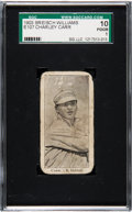 Baseball Cards:Singles (Pre-1930), 1903 E107 Breisch Williams Charley Carr (Ad Back) SGC 10 Poor 1 -Just Two Graded by SGC! ...