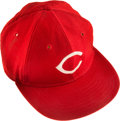 Baseball Collectibles:Hats, 1975 Pete Rose Game Worn Cincinnati Reds Cap Given to Fan FollowingGame 7 of the World Series. ...